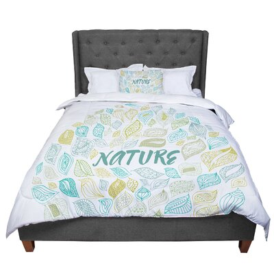 Pom Graphic Design Nature Earth Comforter Size: Twin