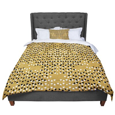 Pom Graphic Design Golden Sky Comforter Size: Twin