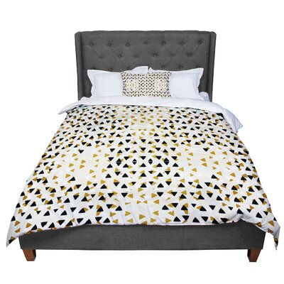 Pom Graphic Design Diamond Sky Comforter Size: Queen