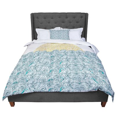 Pom Graphic Design Sunny Tribal Seas II Comforter Size: King