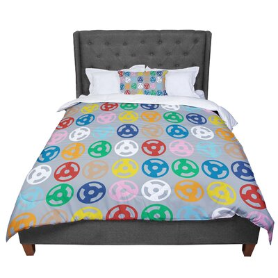Project M Roll with It Comforter Size: King