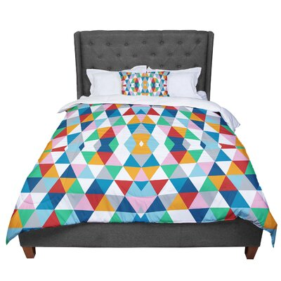 Project M Geometric Comforter Size: King