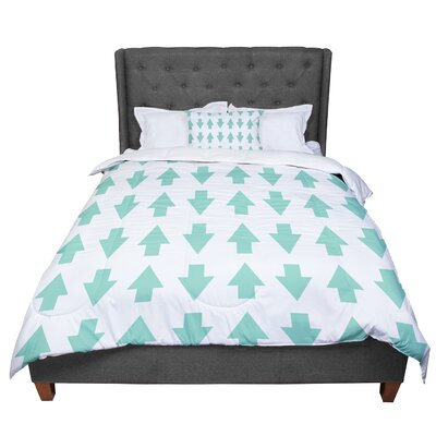 Project M Arrows Up and Down Comforter Size: King