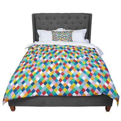 Project M Harlequin Comforter Size: King