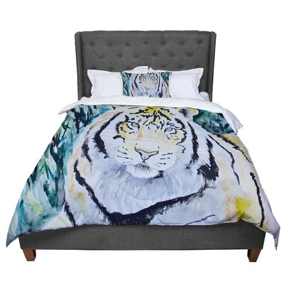 Padgett Mason Tiger Comforter Size: Twin