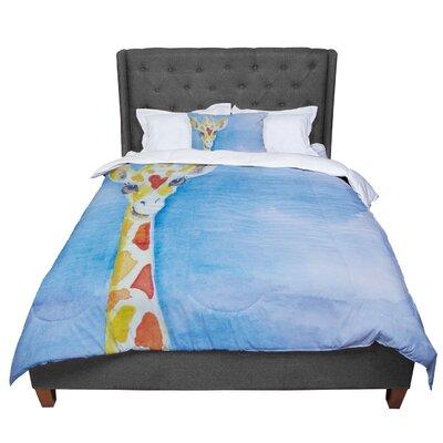 Padgett Mason Topsy Comforter Size: Queen