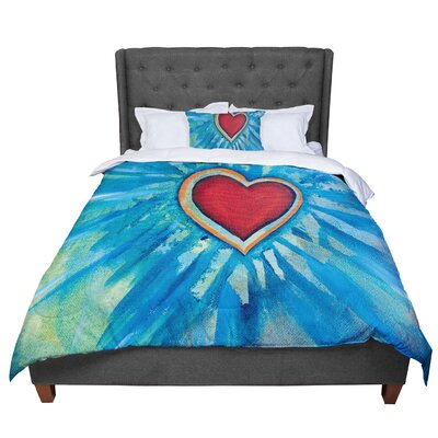Padgett Mason Love Shines on Comforter Size: Queen