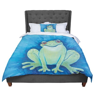 Padgett Mason Ribbit Comforter Size: Queen