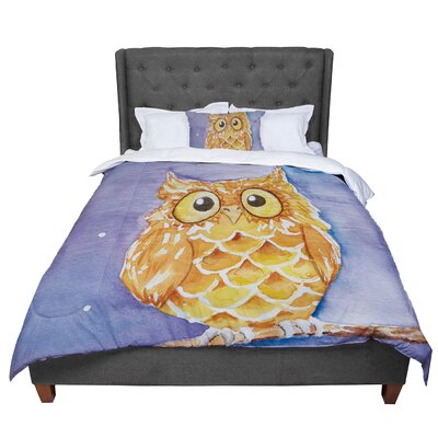 Padgett Mason Little Hoot Comforter Size: Queen