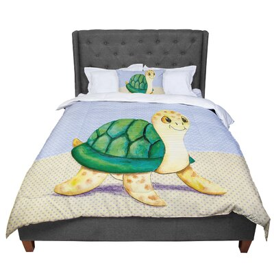 Padgett Mason Slow and Steady Comforter Size: Queen