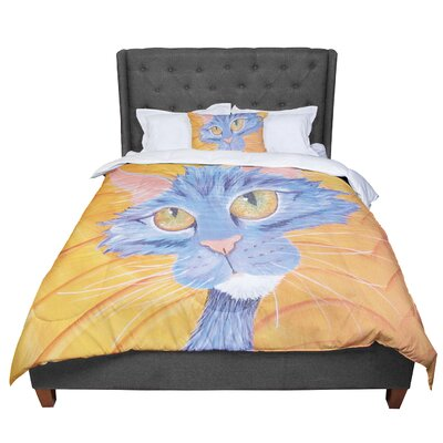 Padgett Mason Tell Me More Comforter Size: King