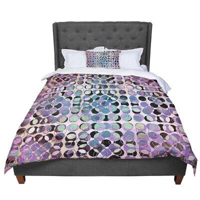 Pia Schneider Melange of Circles III Comforter Size: Queen
