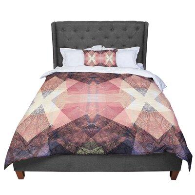 Pia Schneider Garden No3 Geometric Comforter Size: King