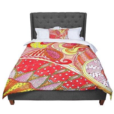 Rosie Swirls Comforter Size: Twin