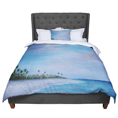 Rosie Carefree Carribean Comforter Size: Twin