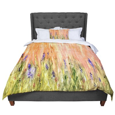 Rosie Welcome Spring Comforter Size: Queen