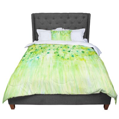 Rosie April Showers  Comforter Size: King