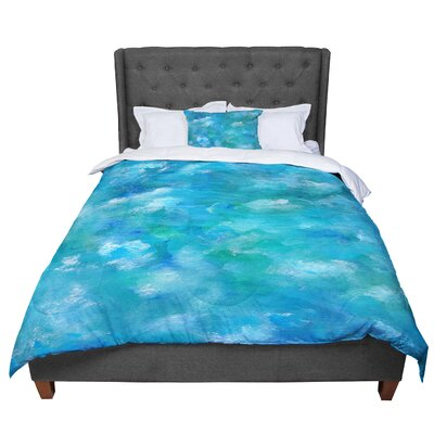 Rosie Ocean Waters Comforter Size: King