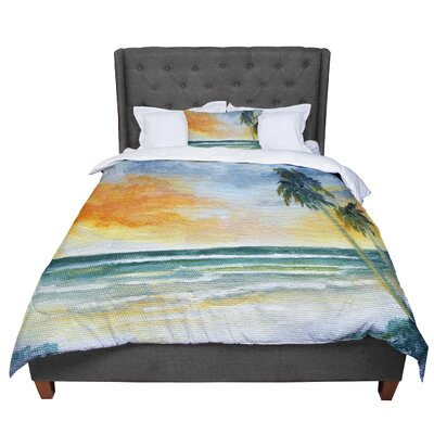 Rosie End of Day Beach Comforter Size: Queen