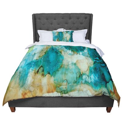 Rosie Waterfall Comforter Size: Queen