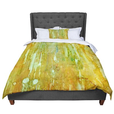 Rosie Rock City Painting Comforter Size: Queen