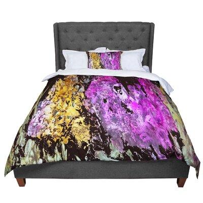 Rosie Garden Glows Comforter Size: King