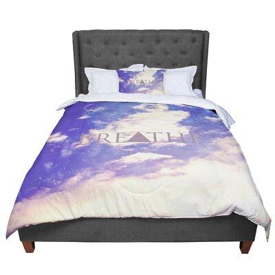 Rachel Burbee Breathe Comforter Size: Queen