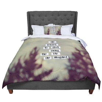 Rachel Burbee Her Life Comforter Size: Queen