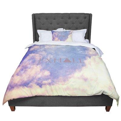 Rachel Burbee Exhale Comforter Size: Queen