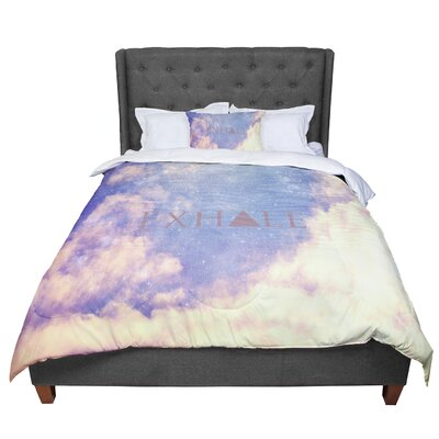 Rachel Burbee Exhale Comforter Size: Twin