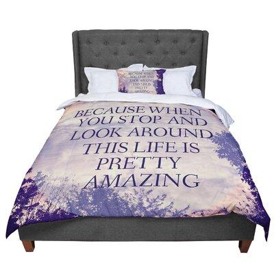 Rachel Burbee Pretty Amazing Sky Comforter Size: Twin