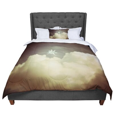 Richard Casillas Pegasus Comforter Size: Queen