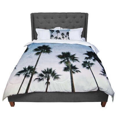 Richard Casillas Paradise Palms Comforter Size: Queen