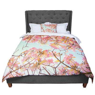 Richard Casillas Spring Splendor Comforter Size: King