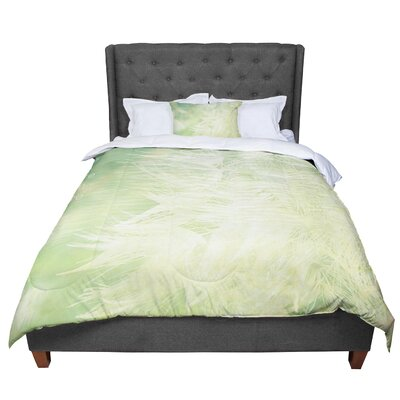 Robin Dickinson Love You More Comforter Size: King