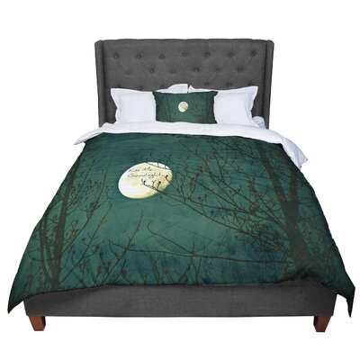 Robin Dickinson Kiss Me Goodnight Comforter Size: King