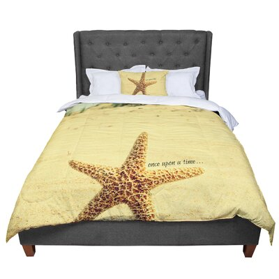 Robin Dickinson Once Upon a Time Starfish Comforter Size: Queen