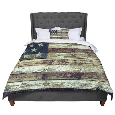 Robin Dickinson Oh Beautiful Comforter Size: King
