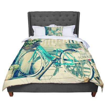 Robin Dickinson Just Married Comforter Size: Twin