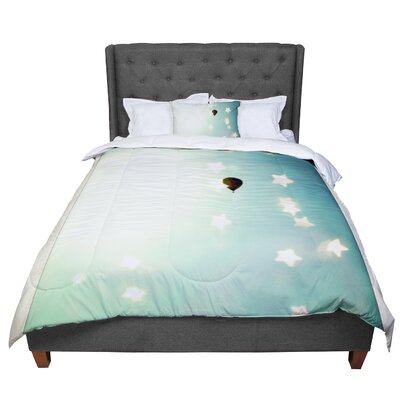 Robin Dickinson Amongst the Stars Comforter Size: Twin