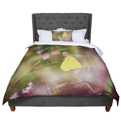 Robin Dickinson Butterfly Kisses Comforter Size: Twin