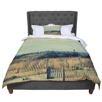 Robin Dickinson Carova Dunes Beach Comforter Size: Queen