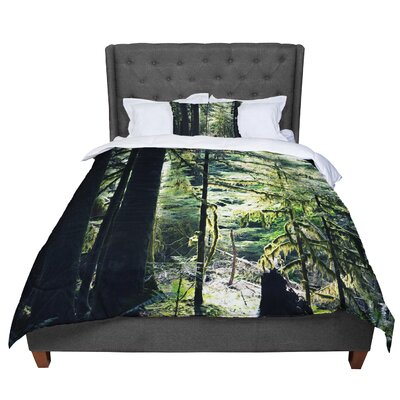 Robin Dickinson Enchanted Forest Comforter Size: King
