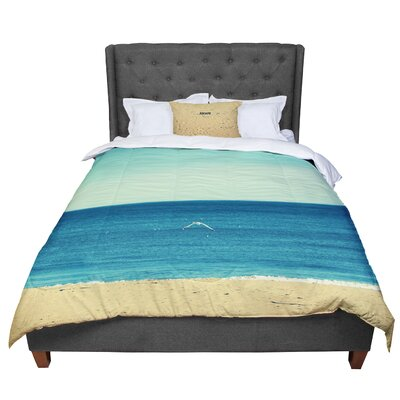 Robin Dickinson Escape Beach Sand Comforter Size: Queen