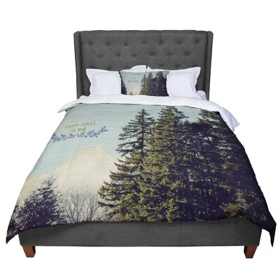 Robin Dickinson Happy Trails Comforter Size: King