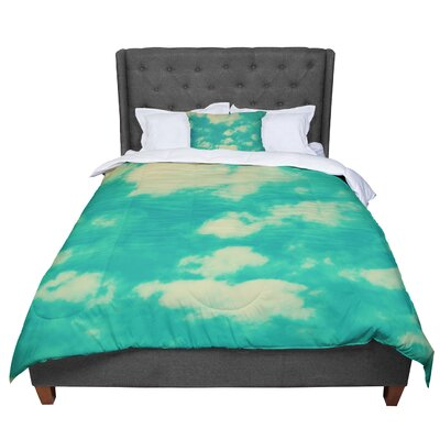 Robin Dickinson I Love That You Love Me Comforter Size: King