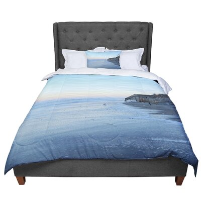 Robin Dickinson Surf Sunshine Beach Comforter Size: Twin