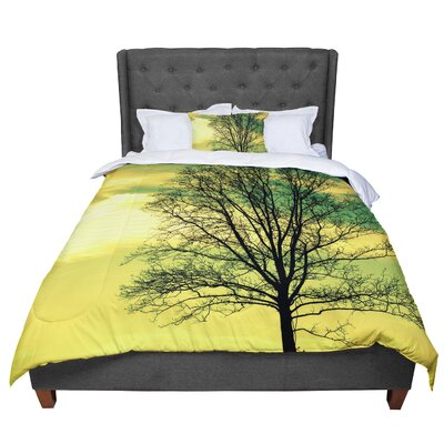 Robin Dickinson Tree Comforter Size: King