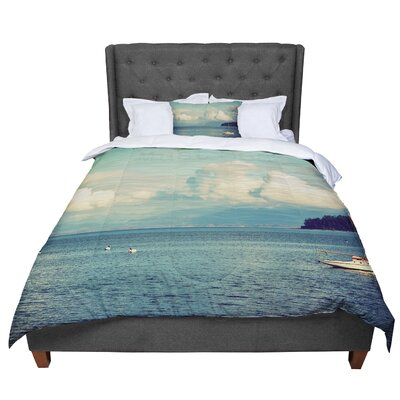 Robin Dickinson Must Sea Ocean Comforter Size: Twin