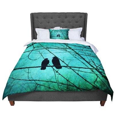 Robin Dickinson Smitten Comforter Size: King